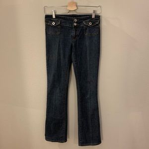 Dolce & Gabbana Vtg Low Rise Straight Leg Jeans